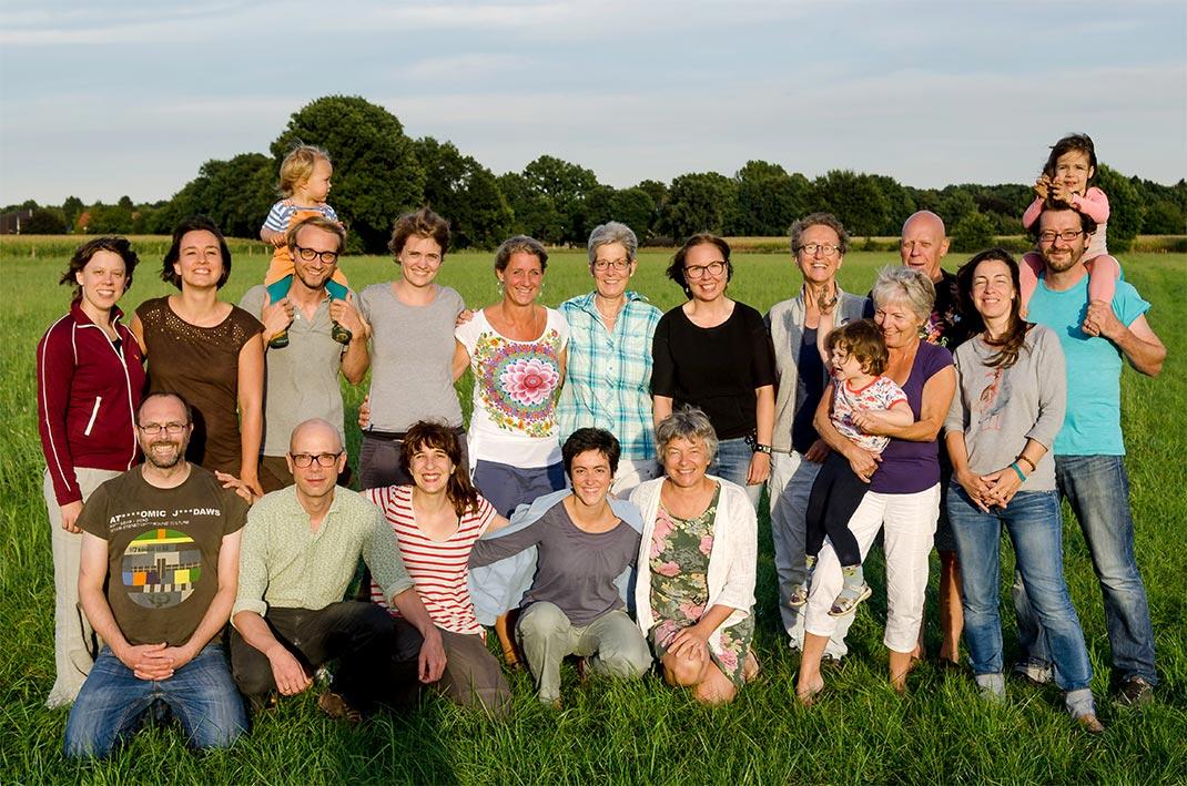 Gruppenbild der Residenten